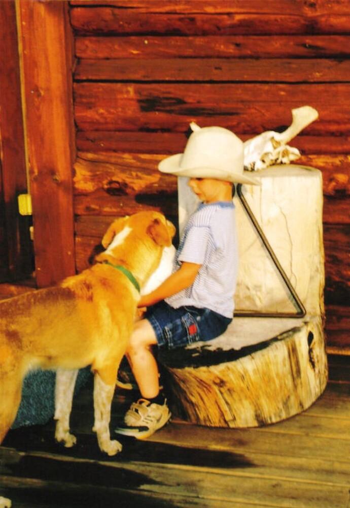 New Cowboy Hat at sunset by Emily Watkins Ragland
