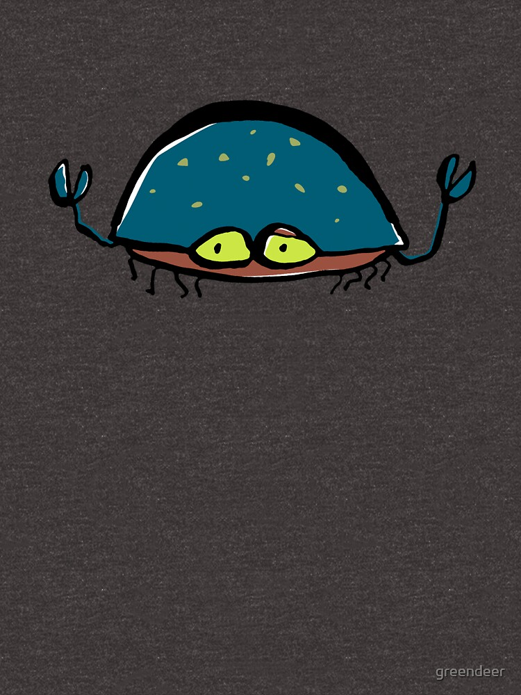 disgruntled crab by greendeer