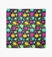 Colourful Paint Splatter Pattern Scarf