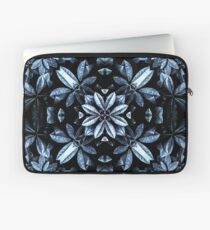 Metallic Leaves Mandala Laptop Sleeve