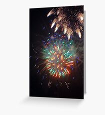 New Year's Eve Abstract!! Greeting Card