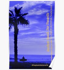 Surfers Beach Bar Tenerife Poster