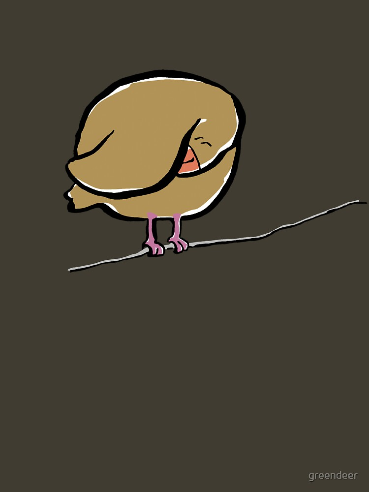 bird on a wire by greendeer