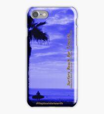 Surfers Beach Bar Tenerife iPhone Case/Skin