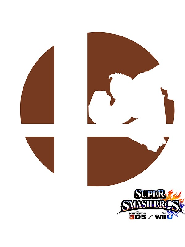 Super Smash Bros Donkey Kong Stickers by WillOrcas