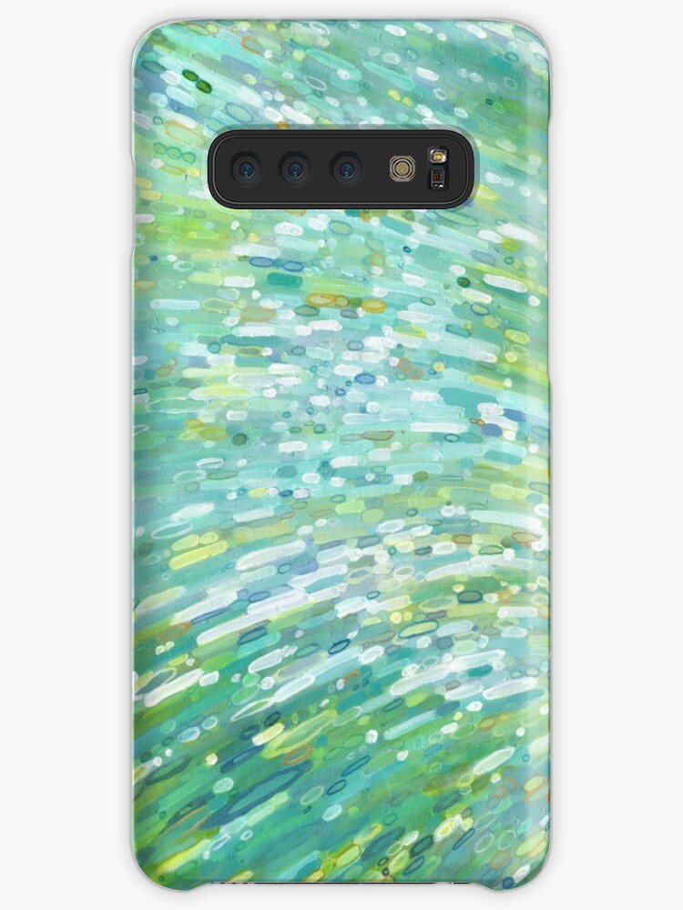 'Turquoise Beach Ocean Reflections Margaret Juul' Case/Skin for Samsung  Galaxy by MargaretJuul
