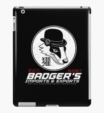 Badger's Imports And Exports : Inspired by Firefly iPad Case/Skin