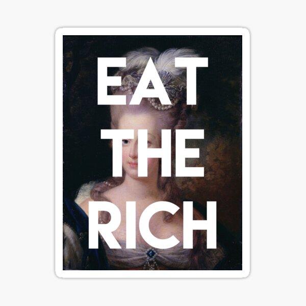 iss die Reichen Sticker