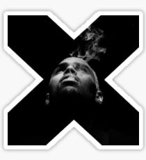 Chris Brown X Sticker