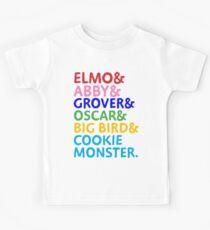 Elmo& Kids Tee