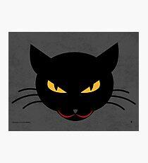 Evil Kitty Photographic Print