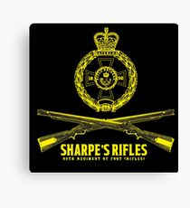 Sharpe's Rifles : Inspired by Sharpe Canvas Print