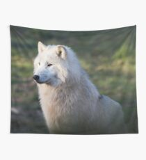Canis Lupus Arctos II Wall Tapestry