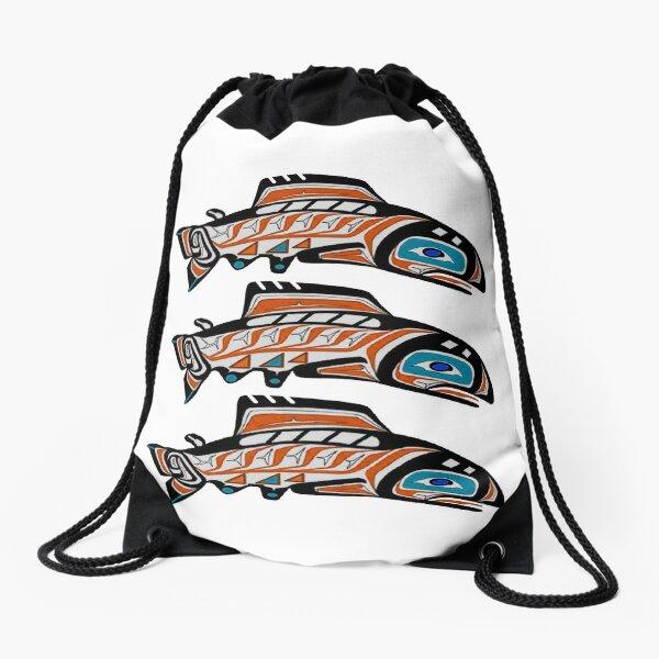 Upstream Swim Drawstring Bag