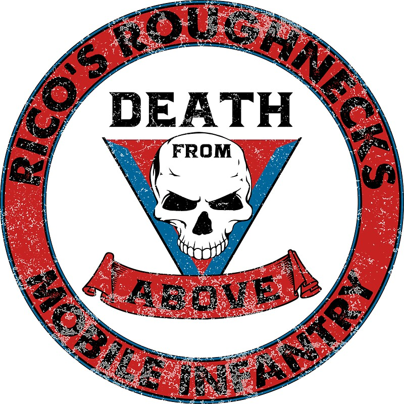 Death from above ricos roughnecks inspired by starship troopers by wonkyrobot