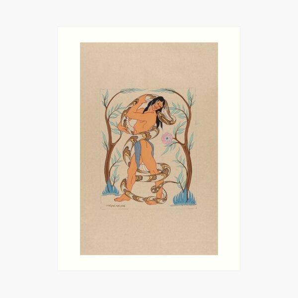 Wah-Pah-Nah-Yah: Mowglis' Collection Art Print