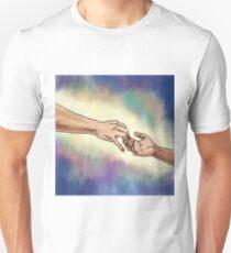 Hands depart Unisex T-Shirt