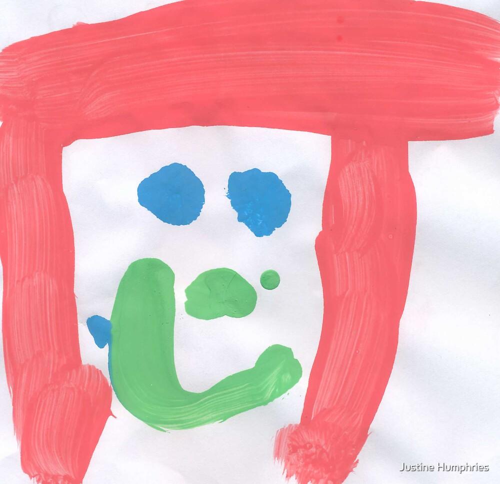 Jessica - by Natasha age 4 by Justine Humphries
