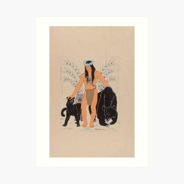 Wah-Pah-Nah-Yah: Mowglis Collection Art Print