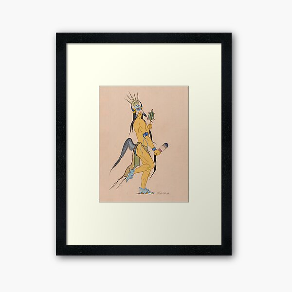 Wah-Pah-Nah-Yah: Mowglis Collection Framed Art Print