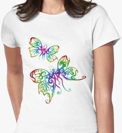 Rainbow Butterfliez T-Shirt