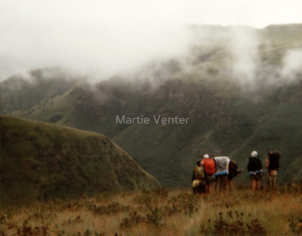 Mist Over the Mountains I by Martie Venter