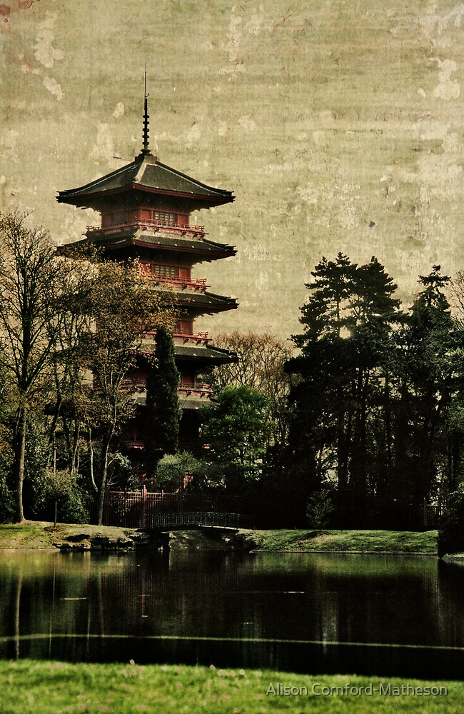 Antique Pagoda by Alison Cornford-Matheson