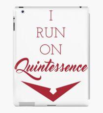 Quintessence - Red iPad Case/Skin