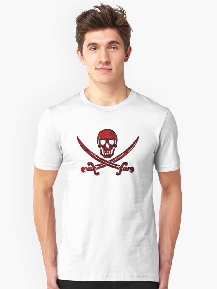 Calico Jack Pirate Flag - Red by troyw