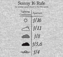 Sunny 16 Rule - Black