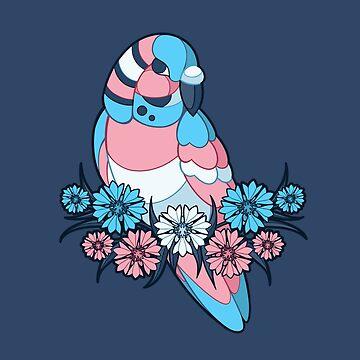 Pride Birds - Transgender by wanderingkotka