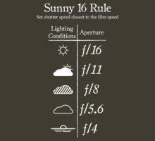 Sunny 16 Rule - White