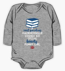 A Most Peculiar Mademoiselle That Belle by Last Petal Tees One Piece - Long Sleeve