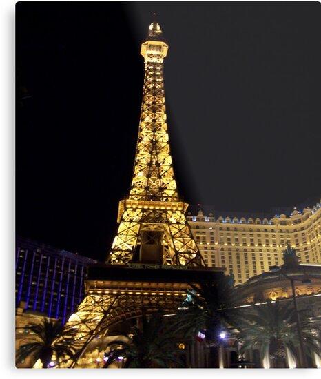 Golden Tower in Las Vegas by judygal