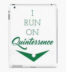 Quintessence - Green iPad Case/Skin