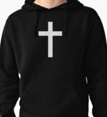 Christian Style Cross T-Shirt Pullover Hoodie