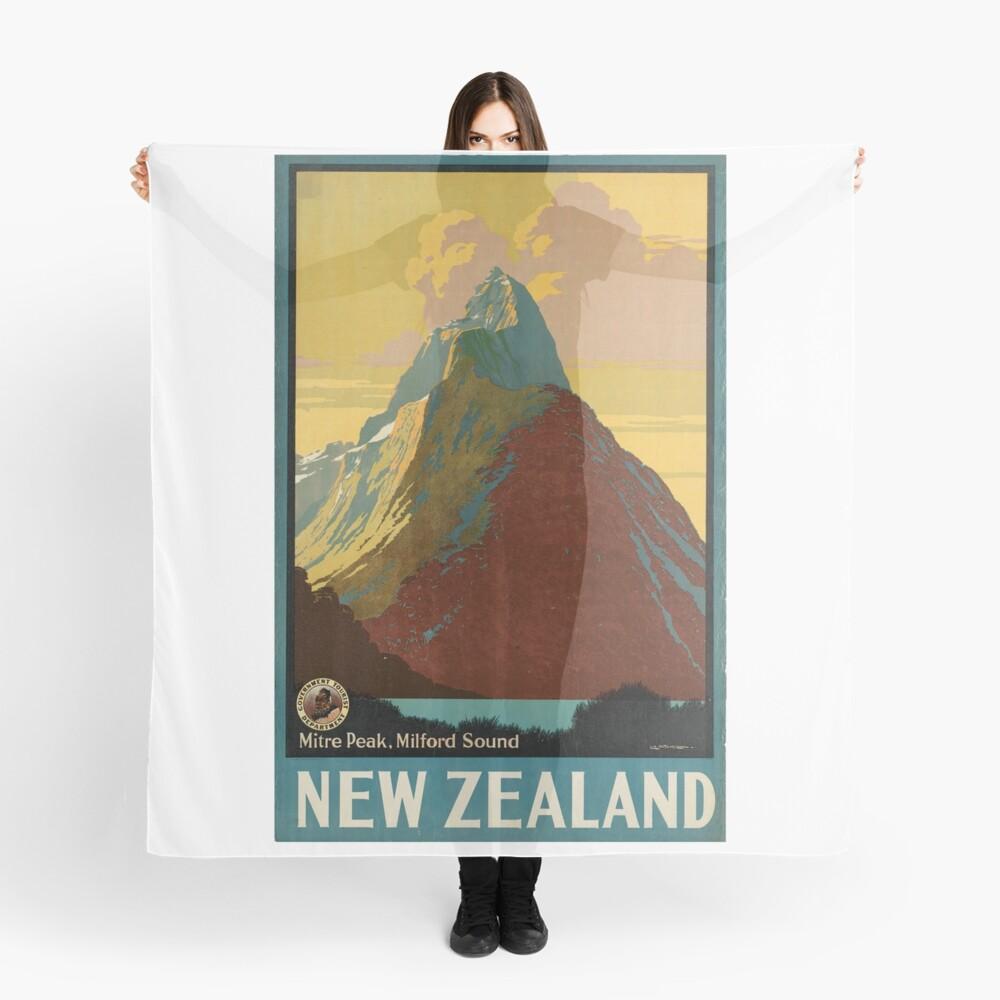 Cartel vintage - Nueva Zelanda Pañuelo