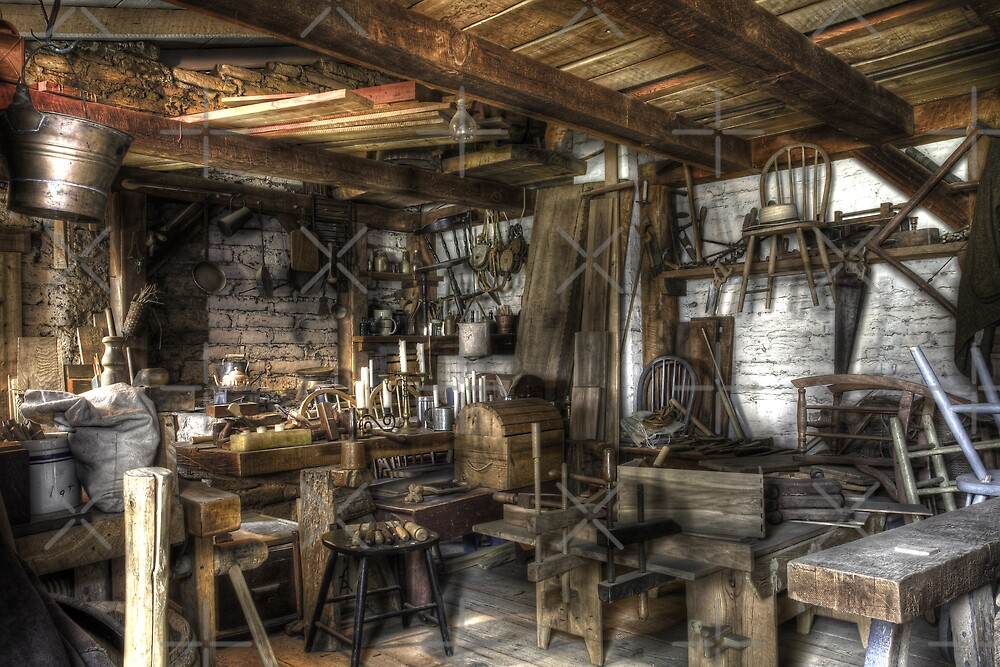 Wood Shop by Ben Pacificar