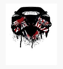 US Piston & Muscle Car Photographic Print