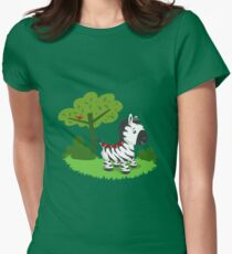 ZEBRA ROAD Women's Fitted T-Shirt