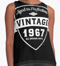 Vintage 1967 Funny 50th Birthday Contrast Tank