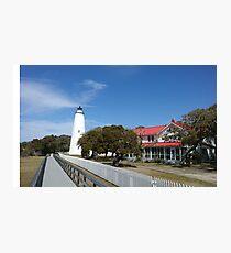 Ocracoke Island LIghthouse Photographic Print