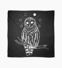 Witchy owl Tuch