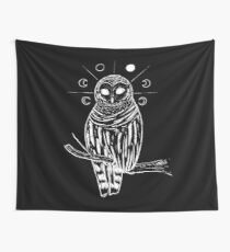 Witchy owl Wall Tapestry