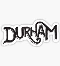 Durham, NC Sticker