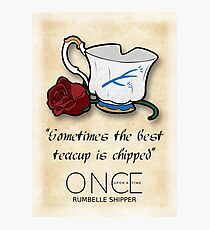 OUAT: Rumbelle  Photographic Print