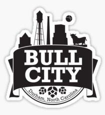 Bull City Sticker