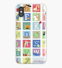 Alphabet Soup iPhone Case/Skin