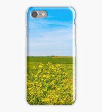 Birchington Fields of Dreams.. iPhone Case/Skin