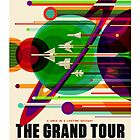 The Grand Tour - NASA/JPL Travel Poster by Robert Partridge